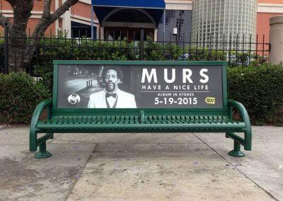 MURS Bench Advertising