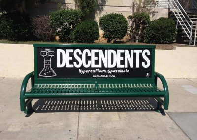 Descendents Bus Stop Ad Silver Lake