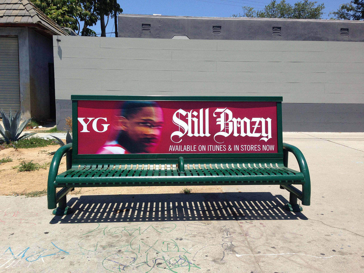 Picture Gallery For Bus Bench Ads Or Bus Stop