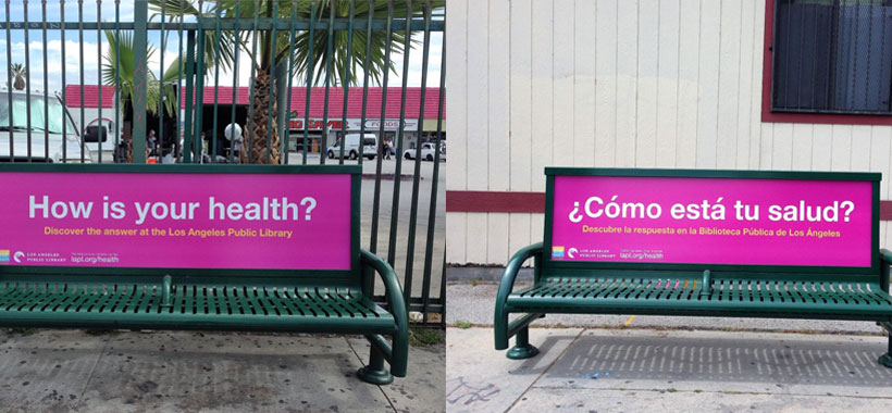 "Library Foundation Of Los Angeles ""How Is Your Health"" Spanish/English Campaign"